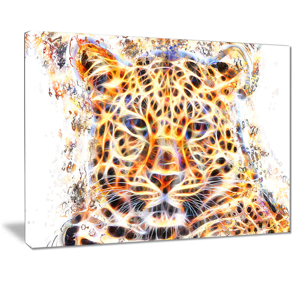 Fetching Feline- Animal Canvas Print PT2357