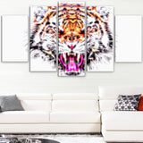Ferocious Feline- Animal Canvas Print PT2368