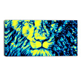 Leader of the Pack - Green Animal Canvas Print PT2406-G