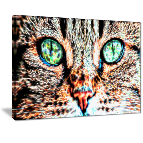 Windows to the Soul - Cat Eyes Canvas Art PT2411
