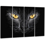 Black Cat Eyes - Canvas Art PT2431