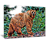 Brown Bear - Canvas Art PT2434