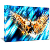 Soaring Eagle Canvas Art PT2445