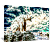 Roar of the Polar Bear - Canvas Art PT2448