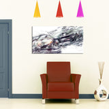 Abstract Black Super Car PT2602