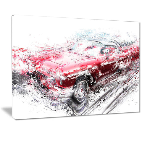 Red Low Rider Convertible PT2642
