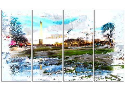Abstract Washington Monument PT2803