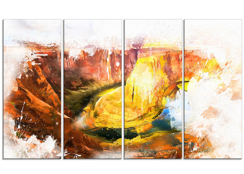 Grand Canyon Canvas Art PT2813
