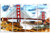 Sanfrancisco Canvas Art PT2819