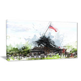 US Liberty Canvas art PT2821