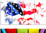 Colors of America Map ArtPT2826