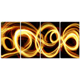 Gold Shock Abstract canvas Art PT3016