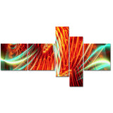 Light Show Abstract canvas Art PT3021