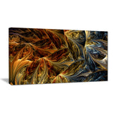 Molten Gold Abstract Art on canvas PT3022
