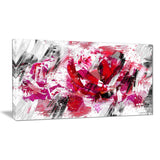 Red Rose Art - Floral Canvas Artwork