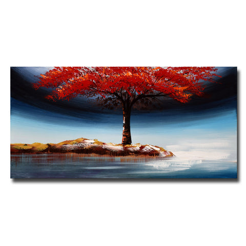 Landscape Tree Growing Strong on Your Own Landscape Canvas Art
