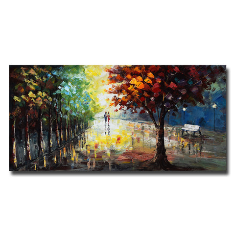 Landscape Forest Colors of Nature Landscape Canvas Art
