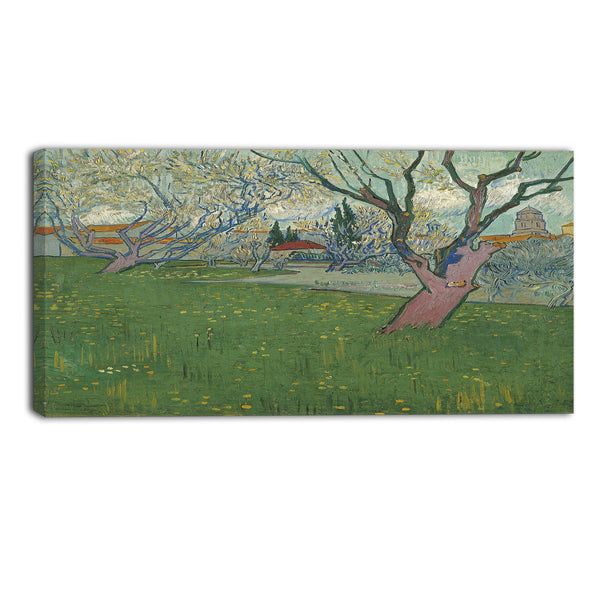 Van Gogh View of Arles with Trees in Blossom