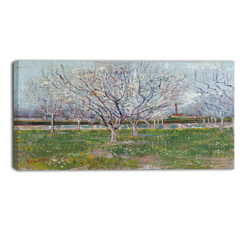 MasterPiece Painting - Van Gogh Orchard in Blossom (Plum Trees)