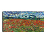 MasterPiece Painting - Van Gogh Poppy Field