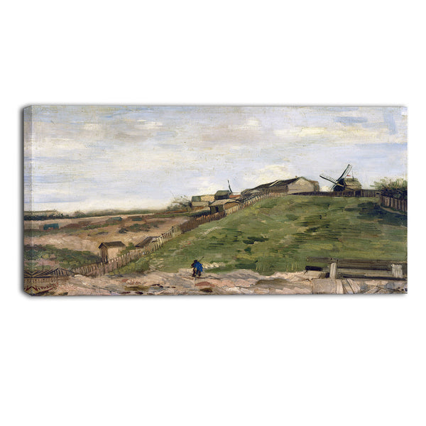 MasterPiece Painting - Van Gogh The Hill of Montmartre with Quarry