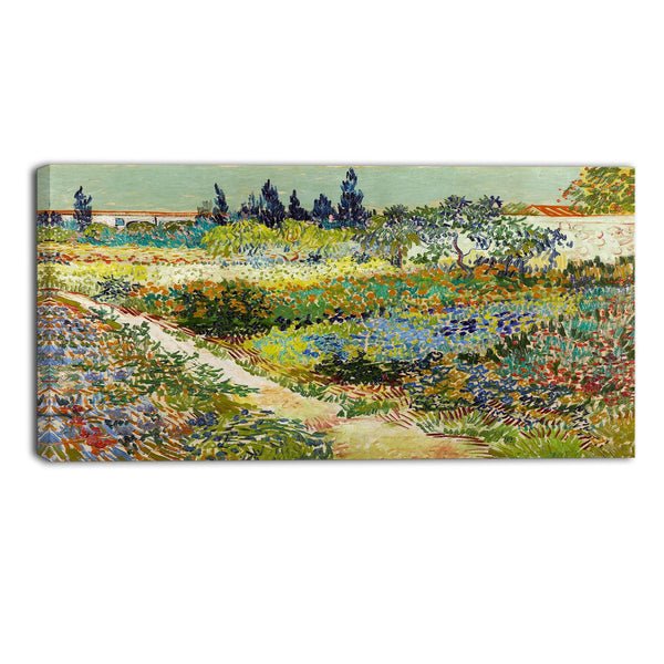 MasterPiece Painting - Van Gogh Garden at Arles