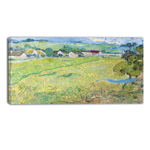 MasterPiece Painting - Van Gogh View of Vessenots Near Auvers