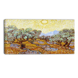 MasterPiece Painting - Van Gogh Olive Trees
