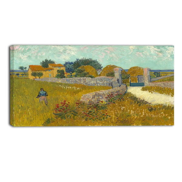 MasterPiece Painting - Van Gogh Farmhouse in Provence