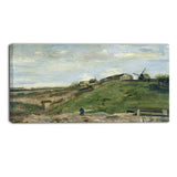 MasterPiece Painting - Van Gogh The Hill of Montmartre with Stone Quarry