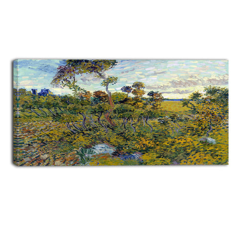 MasterPiece Painting - Van Gogh Sunset at Montmajour