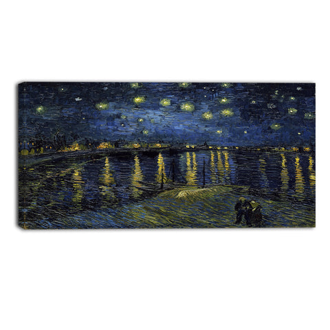 MasterPiece Painting - Van Gogh Starry Night Over the Rhone