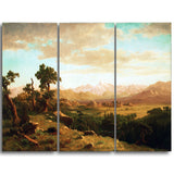 MasterPiece Painting - Albert Bierstadt Wind River Country