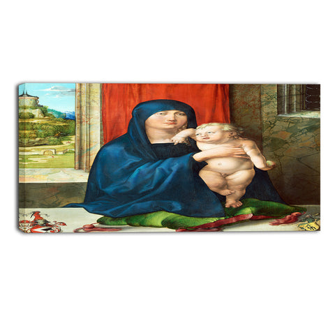 MasterPiece Painting - Albrecht Durer Madonna and Child