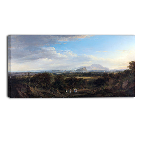 MasterPiece Painting - Alexander Nasmyth A View of Edinburgh from the West