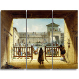 MasterPiece Painting - Alfred Jacob Miller Interior of Fort Laramie