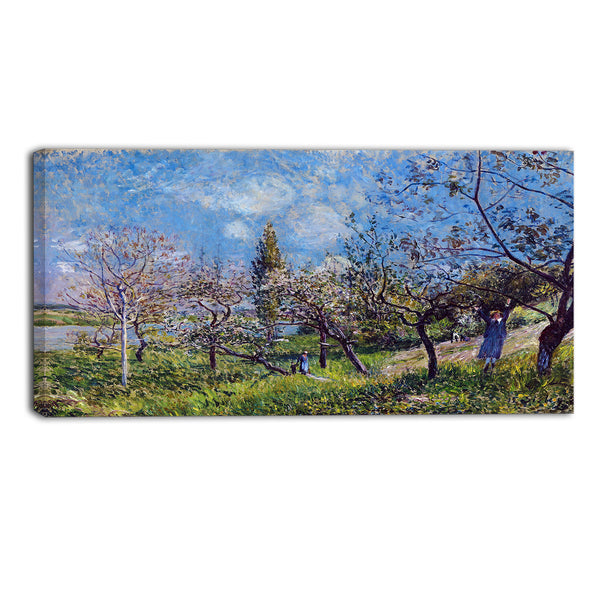 MasterPiece Painting - Alfred Sisley Orchard in Spring