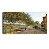 MasterPiece Painting - Alfred Sisley June Morning in Saint
