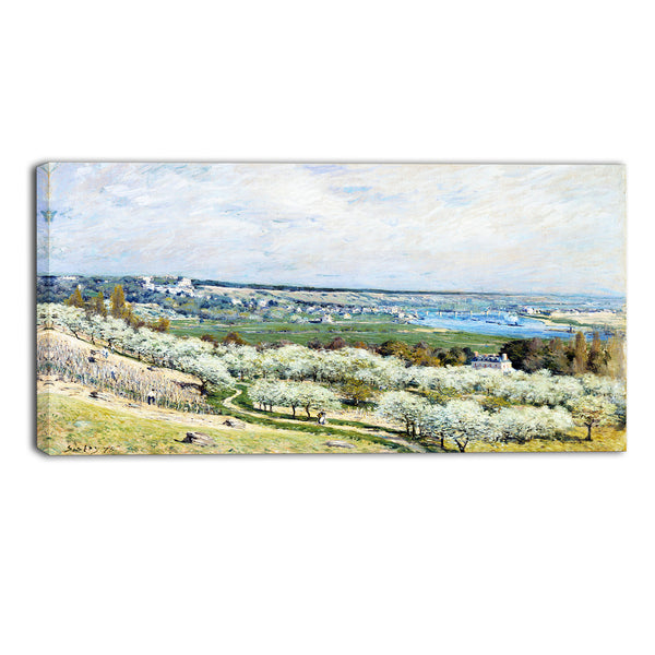 MasterPiece Painting - Alfred Sisley The Terrace at Saint
