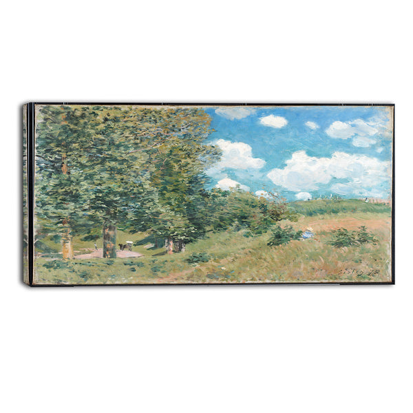 MasterPiece Painting - Alfred Sisley The Road from Versailles to Saint