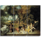 MasterPiece Painting - Antoine Watteau Pleasures of Love