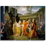 MasterPiece Painting - Anton Losenko Farewell of Hector and Andromache