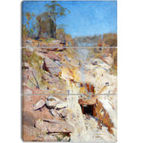 MasterPiece Painting - Arthur Streeton Fire's on