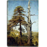 MasterPiece Painting - August Cappelen Study of Trees