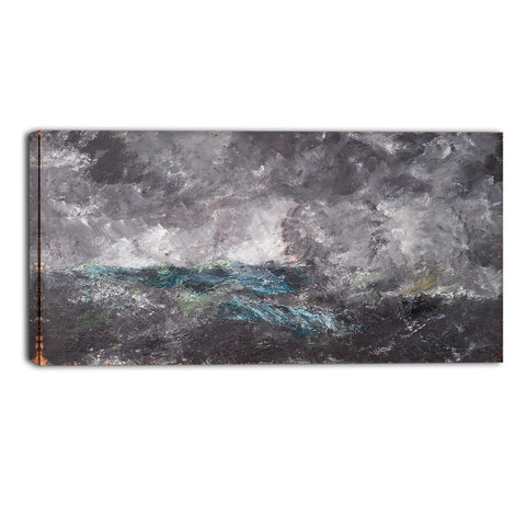 MasterPiece Painting - August Strindberg Storm in the Skerries