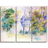 MasterPiece Painting - Auguste Renoir View of a Park