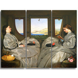 MasterPiece Painting - Augustus Leopold Egg The Travelling Companions