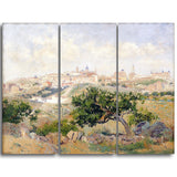 MasterPiece Painting - Aureliano de Beruete View of Toledo