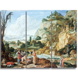 MasterPiece Painting - Bartholomeus Breenbergh The Finding of Moses