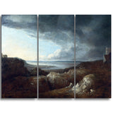 MasterPiece Painting - Benjamin Barker View of the River Severn